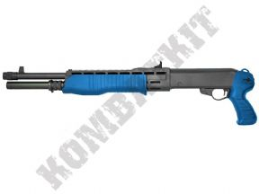 M63 BB Gun | SPAS-12 Style Airsoft Shotgun Pump Action Two Tone | KOMBATKIT SHOP